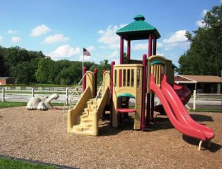 Playground at Laurel Park