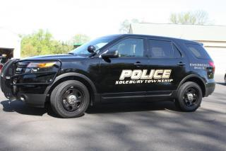 Police Department SUV